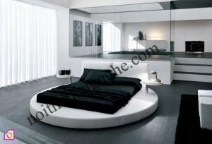 Nội thất phòng ngủ:Giường ngủ tròn GN_22