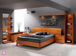 Giường ngủ:Bộ phòng ngủ thiết kế độc đáo GN_30
