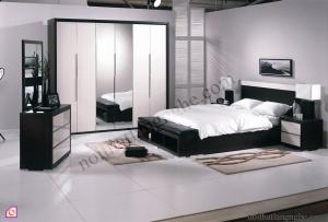 Tủ quần áo cánh mở:Bộ giường tủ TAM_18