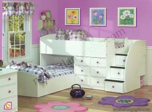 Nội thất trẻ em:Giường tầng GT_05