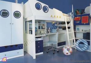 Nội thất trẻ em:Giường tầng GT_07