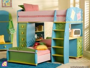 Nội thất trẻ em:Giường tầng GT_12