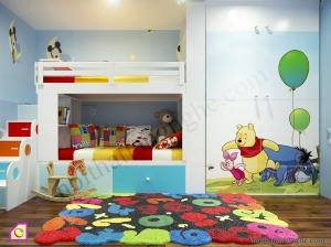 Nội thất trẻ em:Giường tầng GT_15