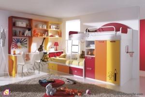 Giường tầng:Bộ giường tầng GT_36