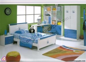 Nội thất trẻ em:Phòng ngủ cho bé trai PNT_10