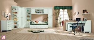 Phòng ngủ trẻ em:Bộ phòng ngủ cho bé PNT_14