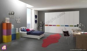 Phòng ngủ trẻ em:Phòng ngủ cho bé PNT_15