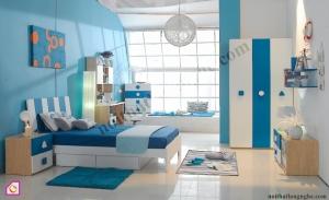 Nội thất trẻ em:Bộ phòng ngủ trẻ em PNT_23