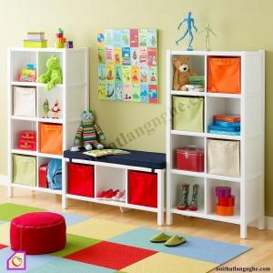 Phòng ngủ trẻ em:Tủ để đồ chơi cho bé PNT_24
