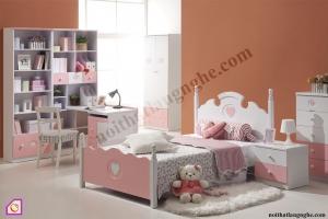 Phòng ngủ trẻ em:Bộ phòng ngủ cho bé gái PNT_30
