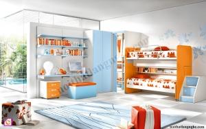 Nội thất trẻ em:Bộ phòng ngủ trẻ em PNT_31
