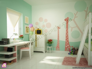 Phòng ngủ trẻ em:Bộ phòng ngủ trẻ em PNT_40