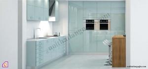 Nội thất phòng bếp:Tủ bếp Acrylic dạng chữ i TBI_02