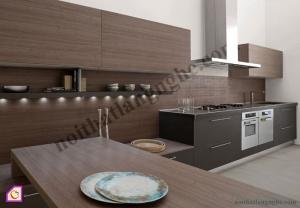 Tủ bếp Melamine dạng chữ I TBI_24