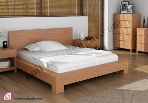 Giường ngủ:Giường ngủ Veneer GN_32