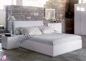Nội thất phòng ngủ:Giường ngủ bọc da GN_41