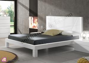 Nội thất phòng ngủ:Giường ngủ Laminate hiện đại GN_44