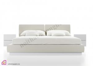 Nội thất phòng ngủ:Giường ngủ bọc nỉ GN_45