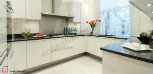 Tủ bếp Laminate dạng chữ U TBU_29