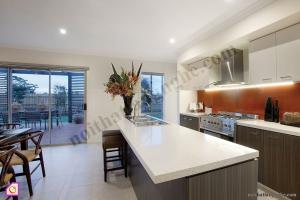 Nội thất phòng bếp:Tủ bếp Laminate có bàn đảo TBĐ_18