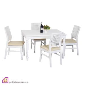 Bàn ghế ăn:Bộ bàn ghế ăn 4 ghế BGA_03