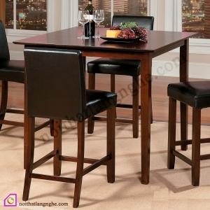 Bàn ghế ăn:Bàn ghế ăn phong cách Tây Âu BGA_04
