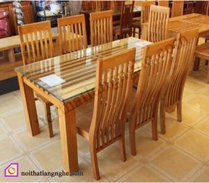 Nội thất khác:Bộ bàn ghế ăn 6 ghế BGA_09