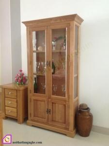 Tủ rượu gỗ Sồi TR_26