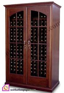 Tủ rượu gỗ Gụ TR_33