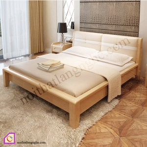 Giường ngủ gỗ Sồi GN_57