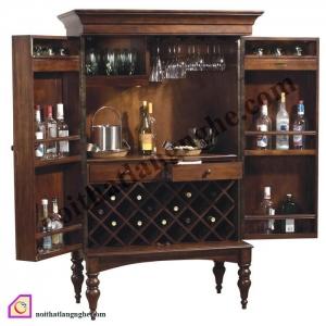 Tủ rượu:Tủ rượu gỗ Gụ TR_37