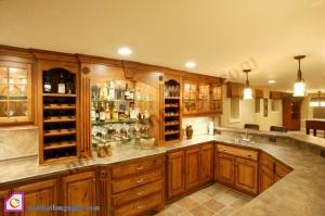 Nội thất phòng khách:Dàn tủ rượu TR_42