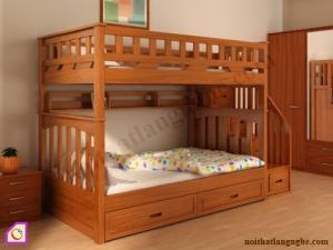 Nội thất trẻ em:Giường tầng gỗ GT_41