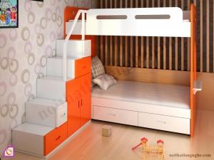 Nội thất trẻ em:Giường tầng GT_45