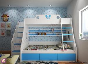 Nội thất trẻ em:Giường tầng GT_46