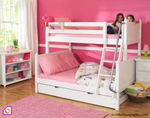 Nội thất trẻ em:Giường tầng gỗ tự nhiên GT_47