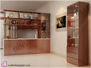 Tủ rượu:Tủ rượu gỗ Laminate TR_44