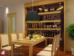 Tủ rượu:Tủ rượu phòng ăn TR_46