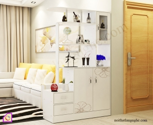 Nội thất phòng khách:Tủ rượu gỗ Melamine TR_47