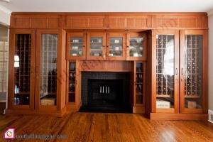 Nội thất phòng khách:Tủ rượu hiện đại TR_49