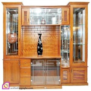Tủ rượu gỗ Sồi TR_57