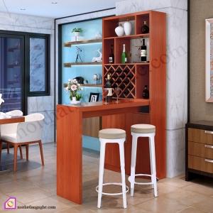 Tủ rượu kết hợp quầy bar TR_58